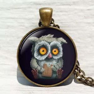 Jewelry - 🦉Funny owl 🦉 necklace
